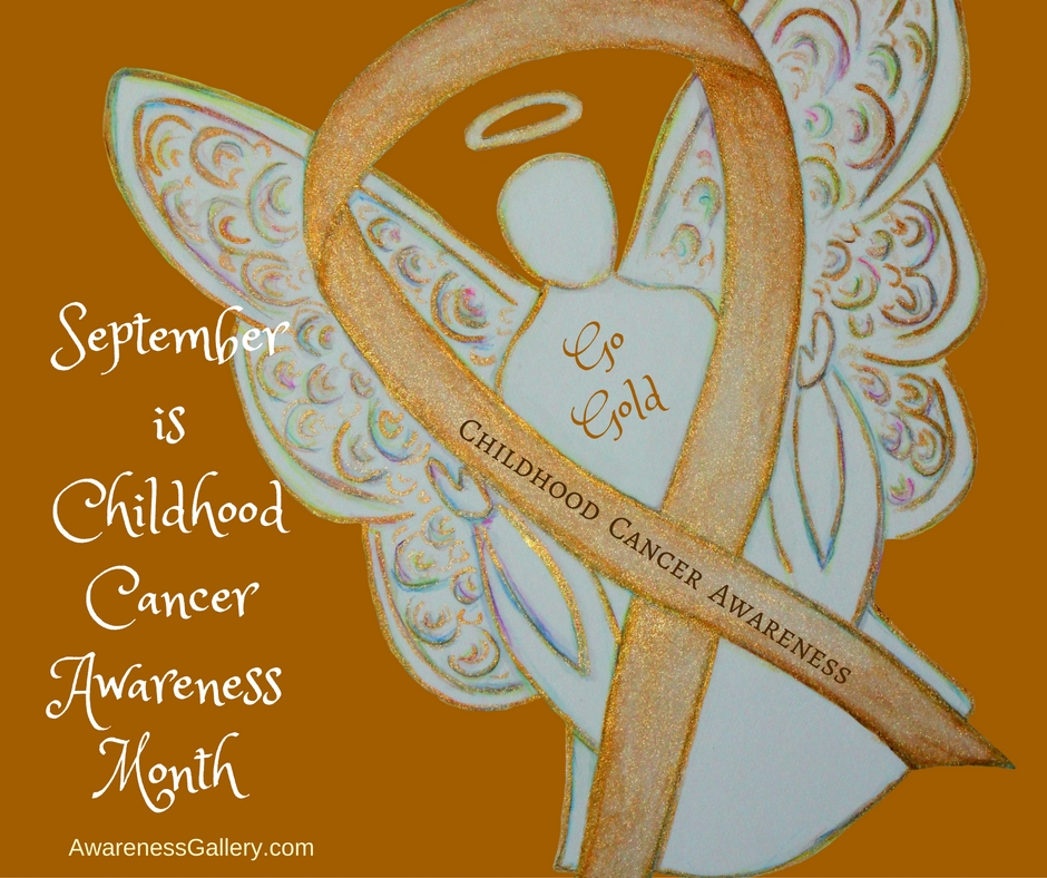 Childhood Cancer Awareness Month is September