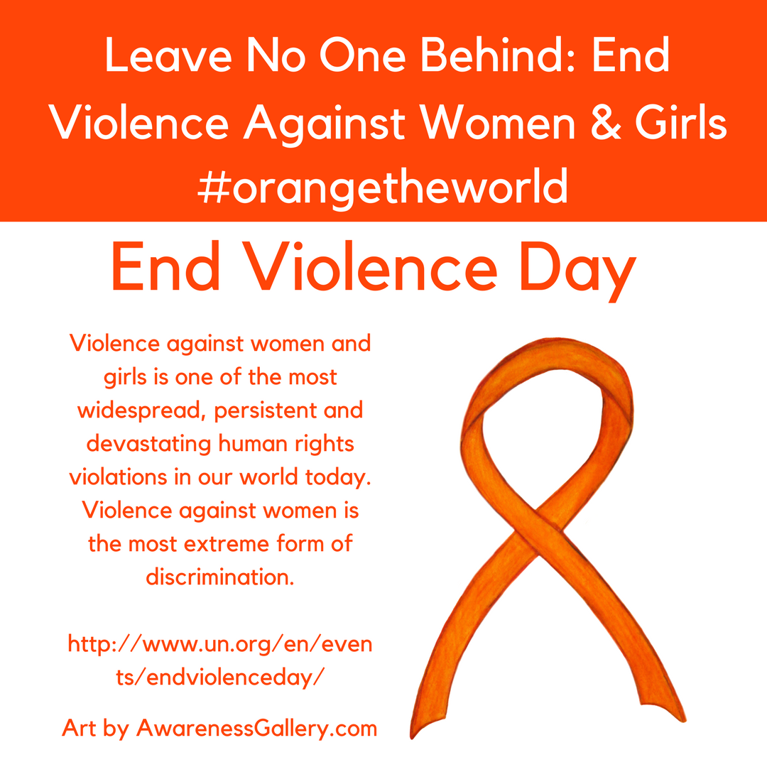 UN Elimination of Violence Against Women Day