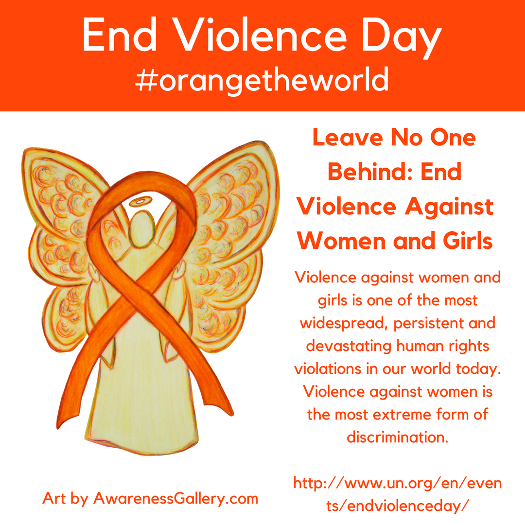 International Day for the Elimination of Violence against Women is November 25th