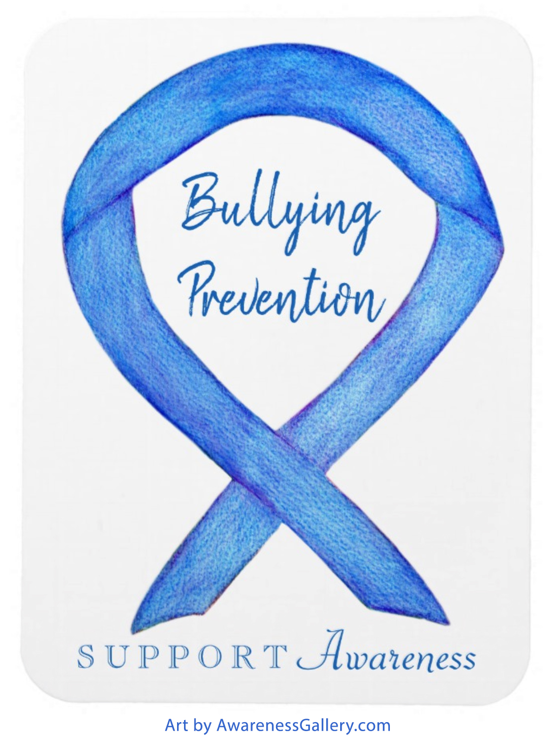Bullying Prevention Blue Awareness