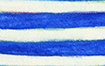 ALS Blue & White Stripes Awareness Ribbon Art Painting