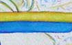 Icon Yellow and Blue Awareness Ribbon Gifts